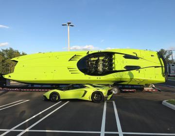 Gino Gargiulo и его новый AventaBoat - MTI Super Veloce