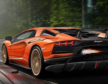 Компания Lamborghini работает над новой версией Aventador