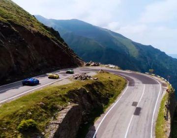 Шикарный ролик с Lamborghini Huracan в Трансильвании