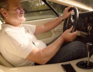 Valentino Balboni и Lamborghini Countach QV