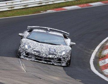 Lamborghini Aventador SVJ на Нюрбургринге