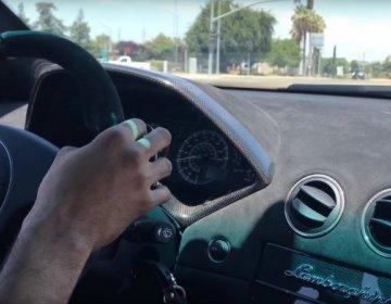 Шикарнейший рёв Lamborghini Murcielago SV