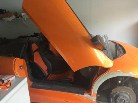 Ремонт Lamborghini Murciélago Roadster