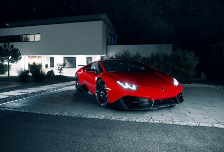 Специалисты из Novitec создали нового зверя Lamborghini Huracan