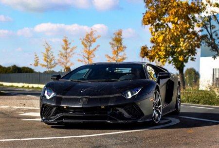 Lamborghini Aventador 2017 (шпионское фото)