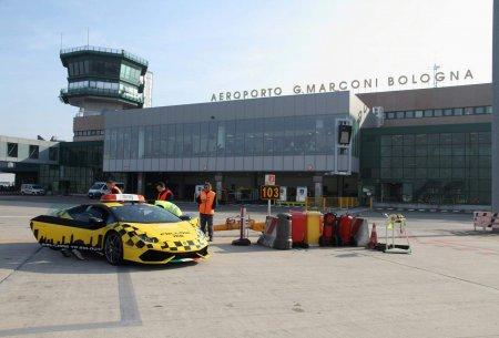 Аэропорт Маркони получил новейший Huracan