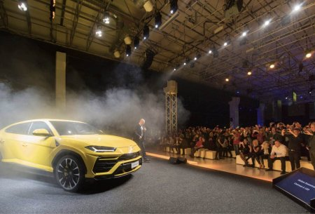 Премьера Lamborghini Urus в Европе. Фото www.lamborghini.com