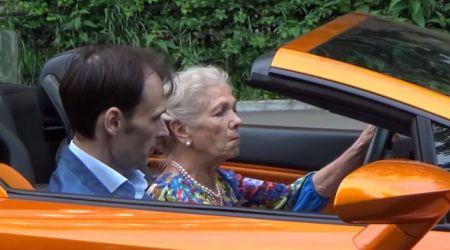 Пранк от бабули на Lamborghini