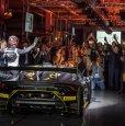Lamborghini Huracán Super Trofeo EVO Presentation. Закрытый показ в Сант'Агате Болоньезе (20 сентября 2017 год).