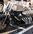 Мотоцикл с двигателем V12 от Lamborghini Countach