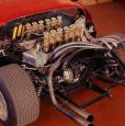 1970 Miura Jota. Двигатель