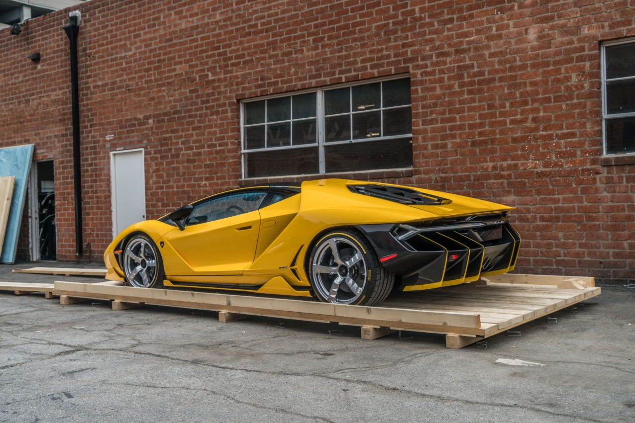 2017 Lamborghini Centenario LP 770-4 US version