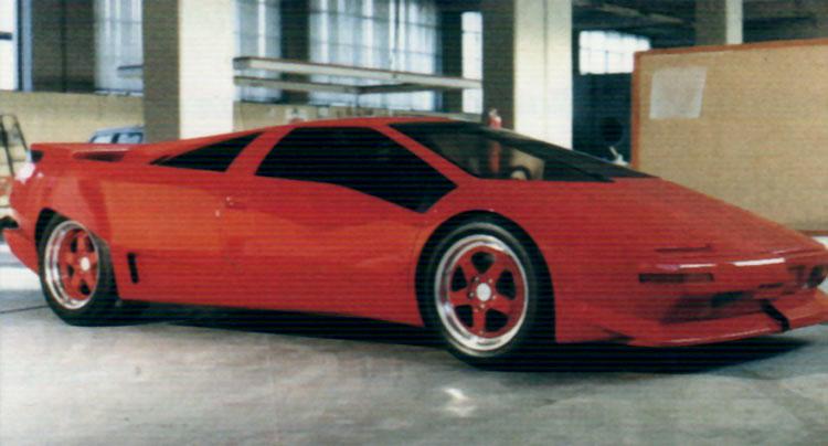 1988 Lamborghini Diablo Prototype (P132) | LamboElite