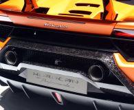 Выхлопные трубы Lamborghini Huracan Performante. Женевский автосалон