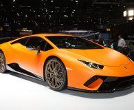 Lamborghini Huracan Performante. Женевский автосалон