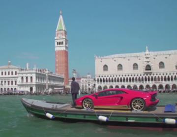 Lamborghini и L'Uomo Vogue собрались вместе по случаю 73-го Международного Венецианского кинофестиваля