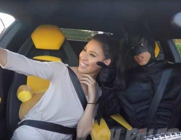 На Lamborghini с Бэтменом