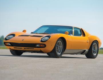 Аукцион RM в Монтерее. Lamborghini Miura