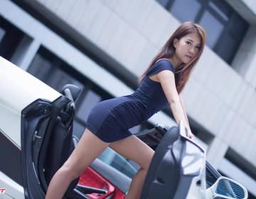 Vanessa и Lamborghini Gallardo Spyder