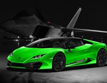 Lamborghini запустит Huracan Avio ограниченной серией в Женеве