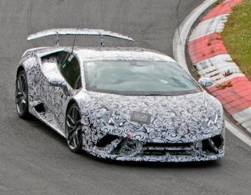 Экстремальный Lamborghini Huracan готов к дебюту