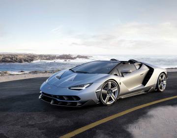 Lamborghini Centenario Roadster на Парижском Мотор-шоу