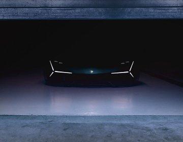 Тизер нового конуепта Lamborghini