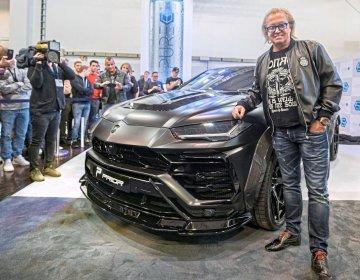 Lamborghini Urus в обвесе от Prior Design и Роберт Гейсс (Robert Geiss)
