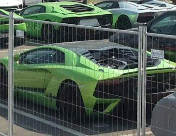 Шпионские кадры Lamborghini