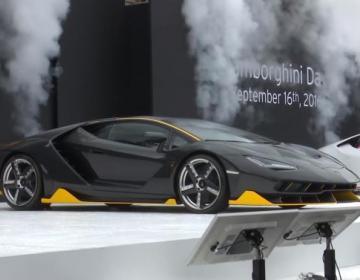Lamborghini Centenario LP770-4 Coupé в Токио