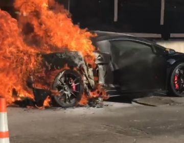 Twin Turbo Lamborghini Gallardo от Underground Racing воспламенился на Bullfest в Майами 2017