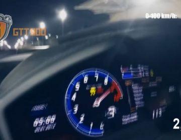 Lamborghini Huracan TwinTurbo GTT-900 показатели 0-300 км/ч