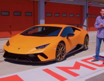 Тест-драйв Lamborghini Huracan Perfomante