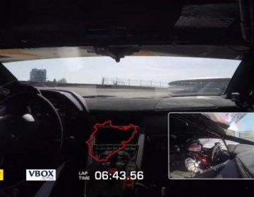 Lamborghini Aventador SVJ ставит рекорд на Нюрбургринге