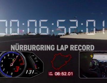 Lamborghini Huracán Performante ставит рекорд на Нюрбургринге