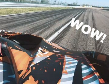 Тизер нового Lamborghini Squadra Corse V12