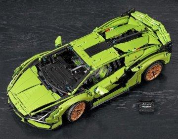 Воссоздание Lamborghini Sian FKP 37 LEGO Technic