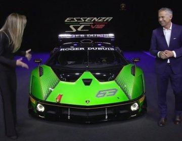 Lamborghini Essenza SCV12 - мировая премьера