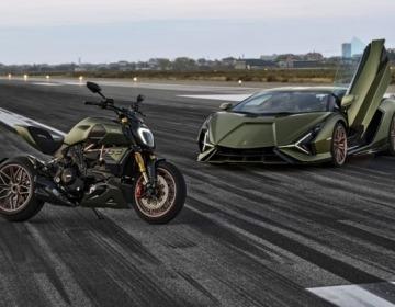 Новый Ducati Diavel 1260 Lamborghini вдохновленный Sian FKP 37
