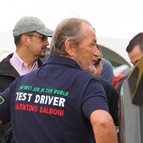 История о том, как Валентино Бальбони стал тест-пилотом Lamborghini