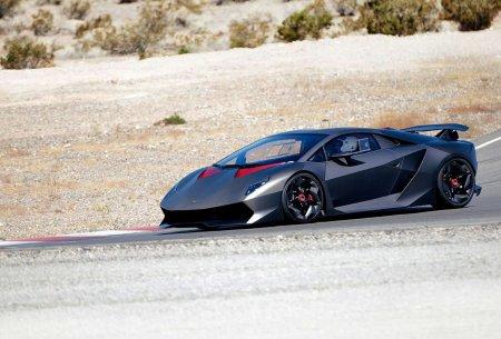 Lamborghini Sesto Elemento на треке