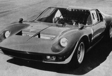 1970 Miura P400 Jota