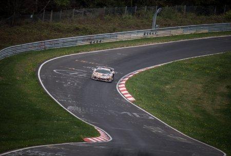 2018 Aventador SVJ Prototipo ставит рекорд на Nürburgring Nordschleife.