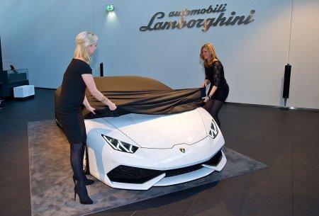 Lamborghini Huracan показали в Нидерландах