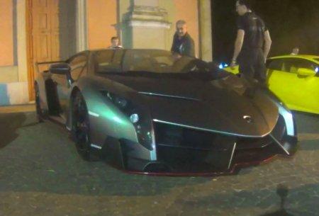 Ночные покатушки на Lamborghini Veneno и Huracan LP610-4