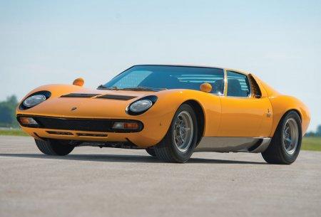 Lamborghini Miura SV 1971 года -$2,090,000