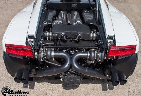 Недавно парень по имени Брайан решил отдать свой Gallardo LP560 Dallas Performance, чтобы установить Twin Turbo систему 2-го уровня. В итоге Gallardo модернизировали и теперь в нем 1100 WHP ( на гоночном топливе).