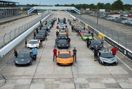 Серия Lamborghini Blancpain Super Trofeo Северная Америка