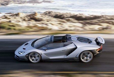 Lamborghini Centenario Roadster представили на Парижском Мотор-шоу