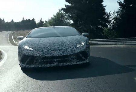 Lamborghini Huracán Performante установил рекорд трека на Нюрбургринге